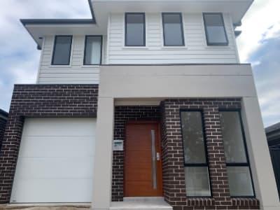 Small block custom home