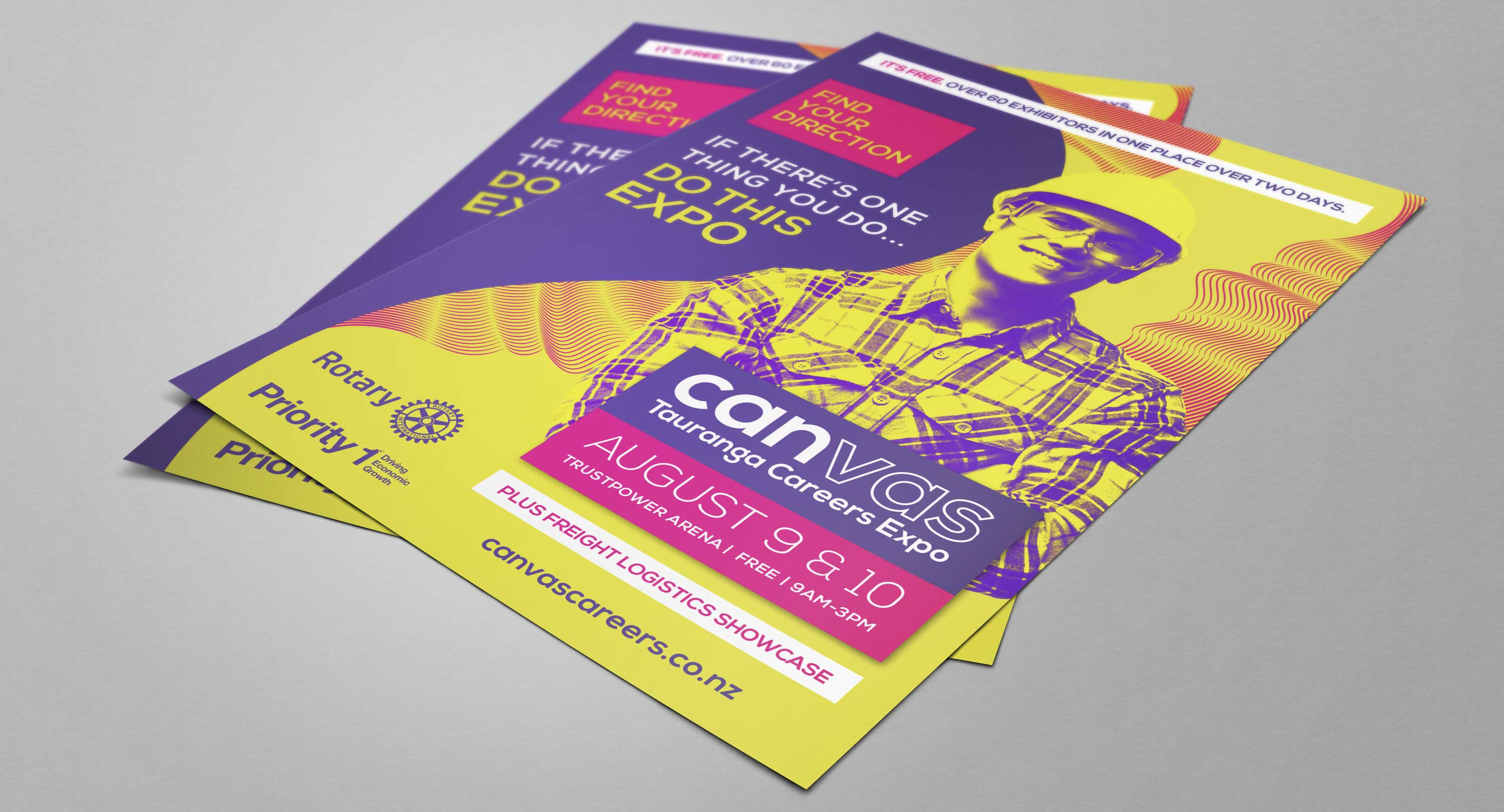 Marketing material Tuskany created for Canvas Careers Expo.