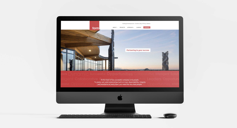 Website redevelopment