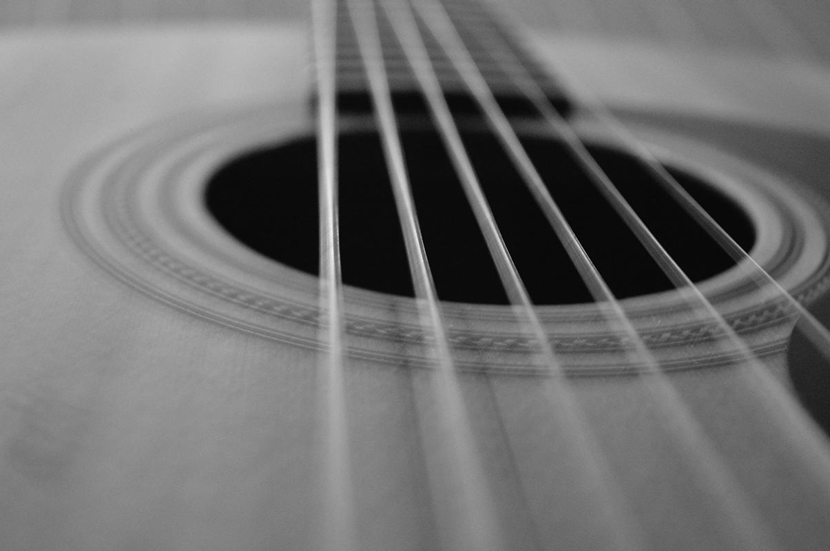 guitar photography by jamey faulkner