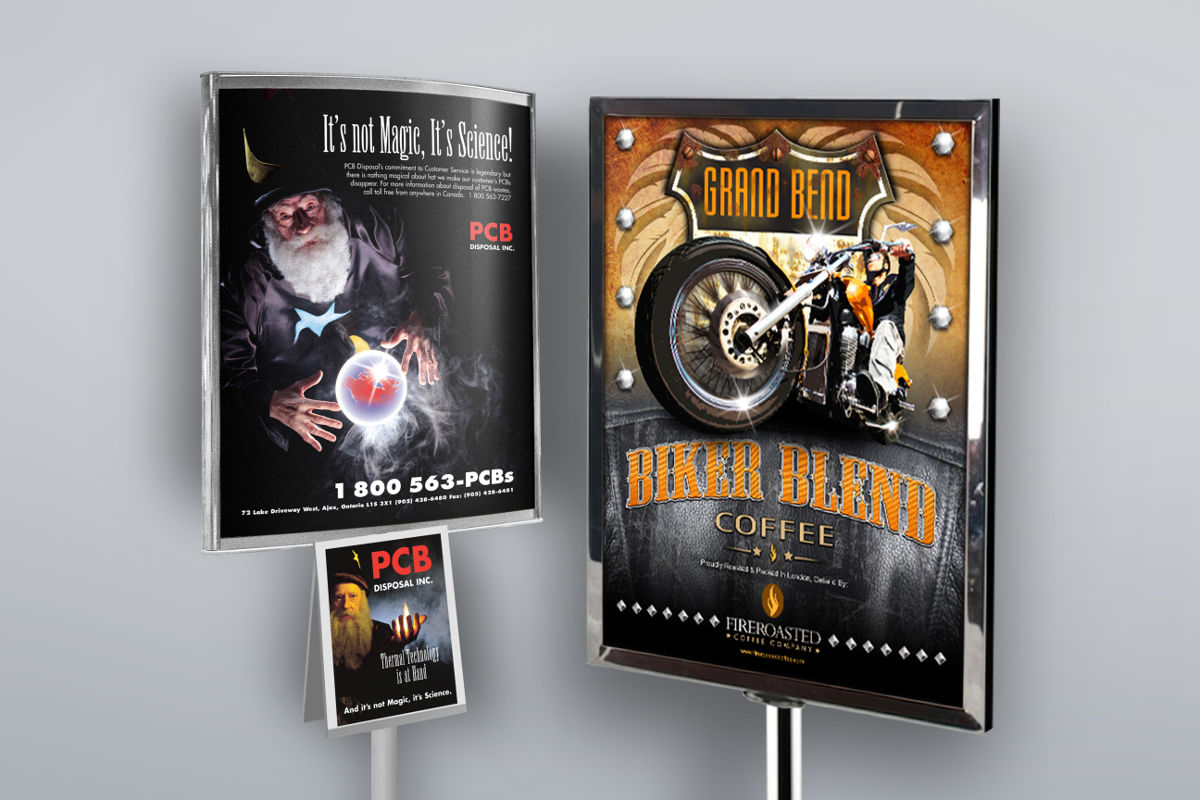 Tradeshow banners