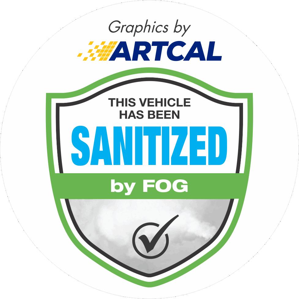 Sanitized By Fog logo