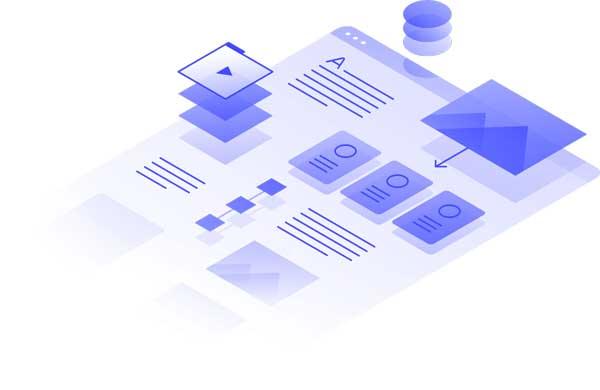 grafische weergave van de webflow editor websitebouwer