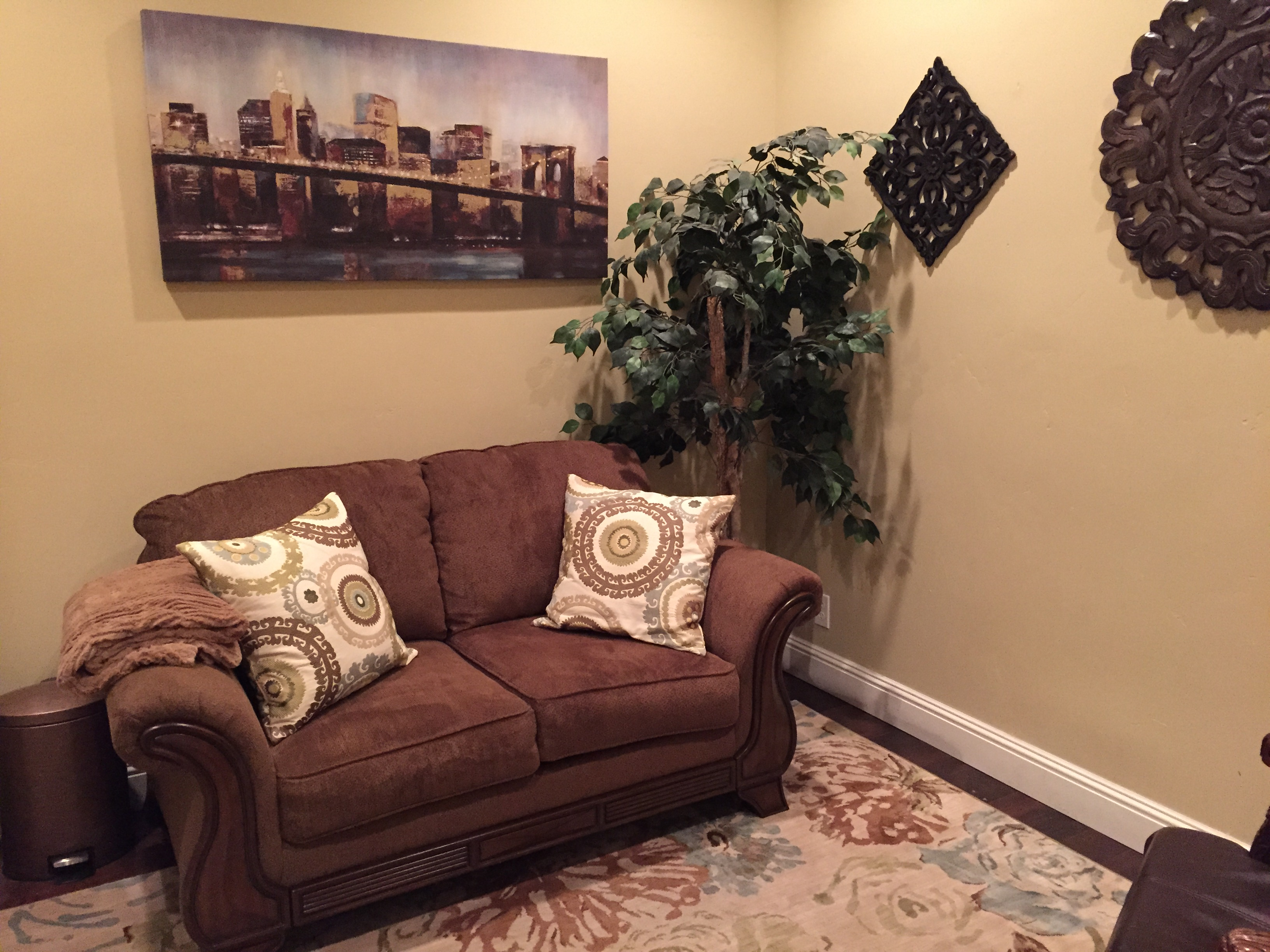 Counseling Office For Rent With Comfortable Settings Set Your Clients At Ease