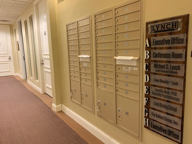 Get a mailing address with Lynch Business Center