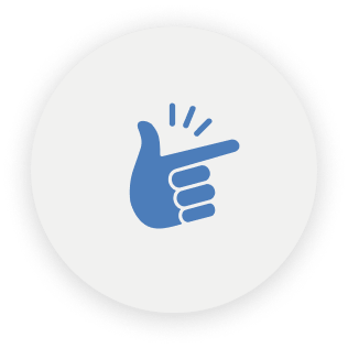 finger snap icon