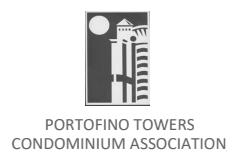 PORTOFINO TOWERS CONDO ASSOC