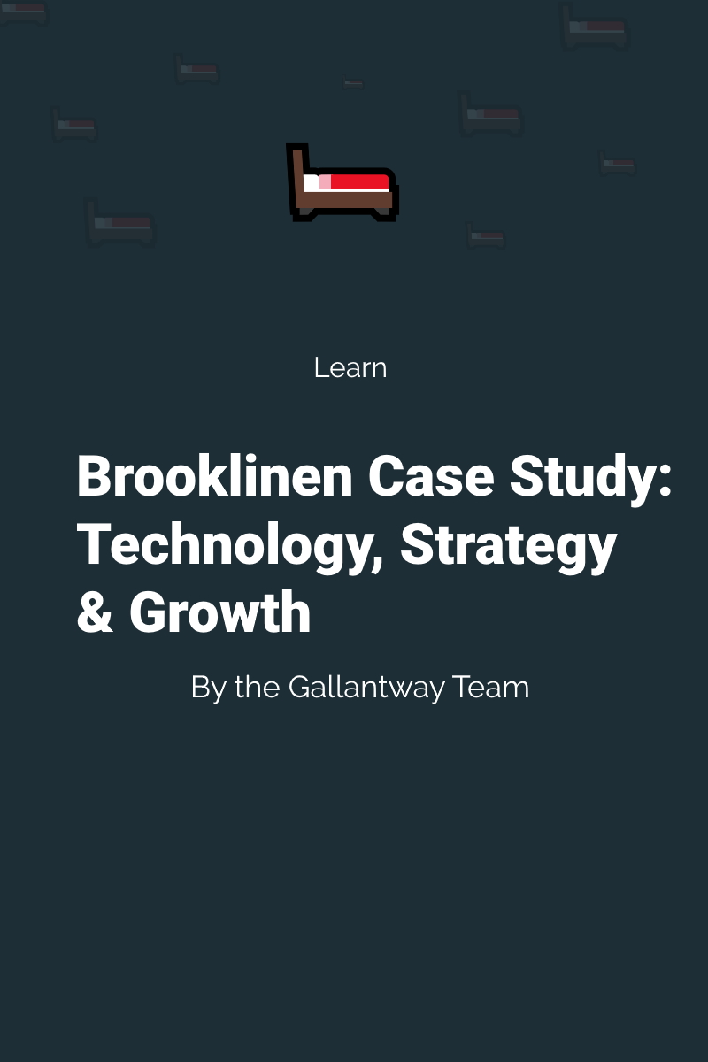 brooklinen ecommerce case study