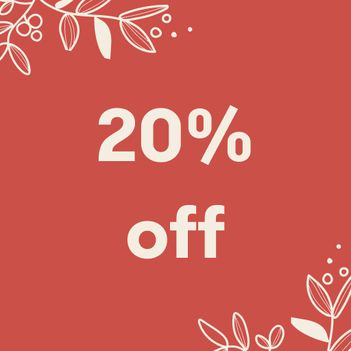 20% off at the Palm House Gift Shop all of December!
