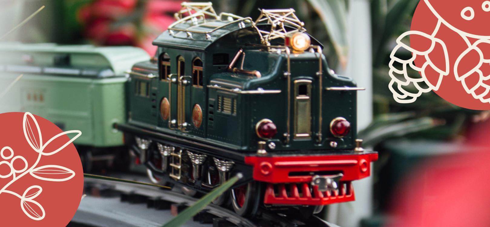 Annual Train Raffle!
