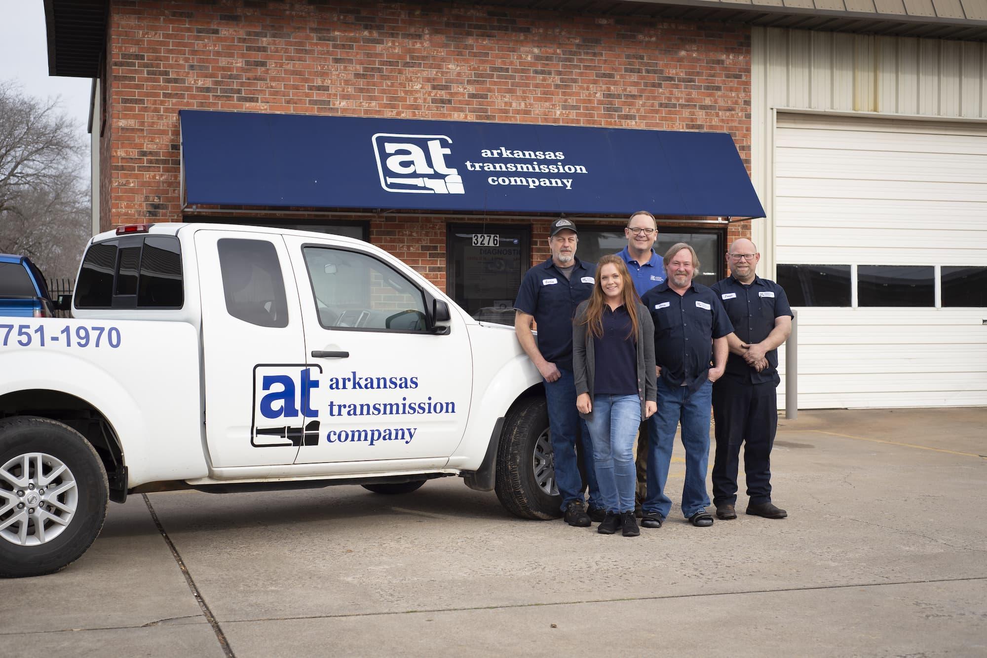 Arkansas Transmission store front.