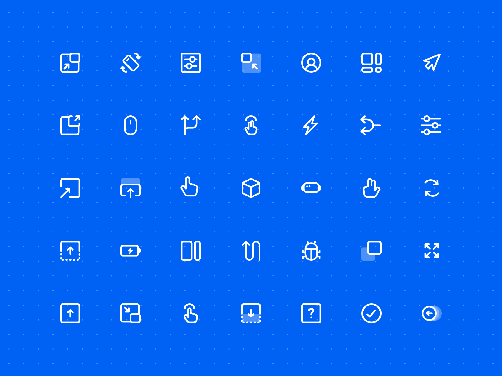 UX Flows & Wireframes Icon Pack