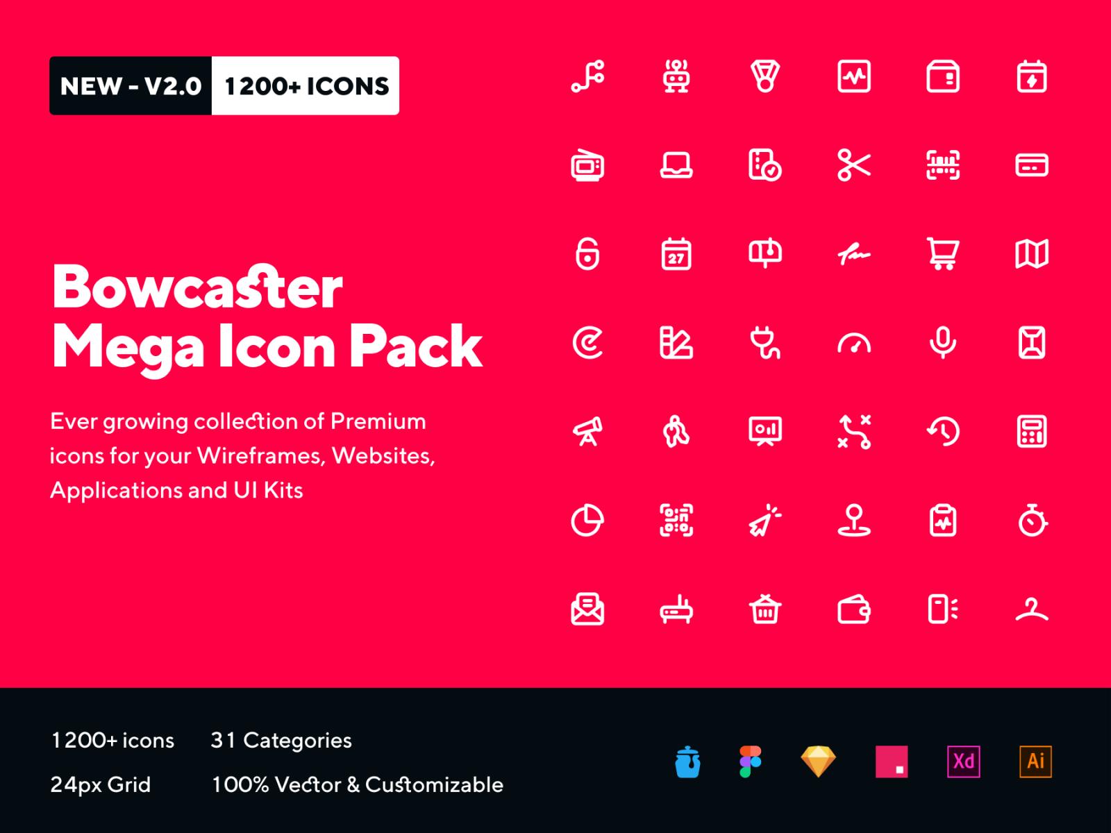 Bowcaster Mega Icon Pack Tarful