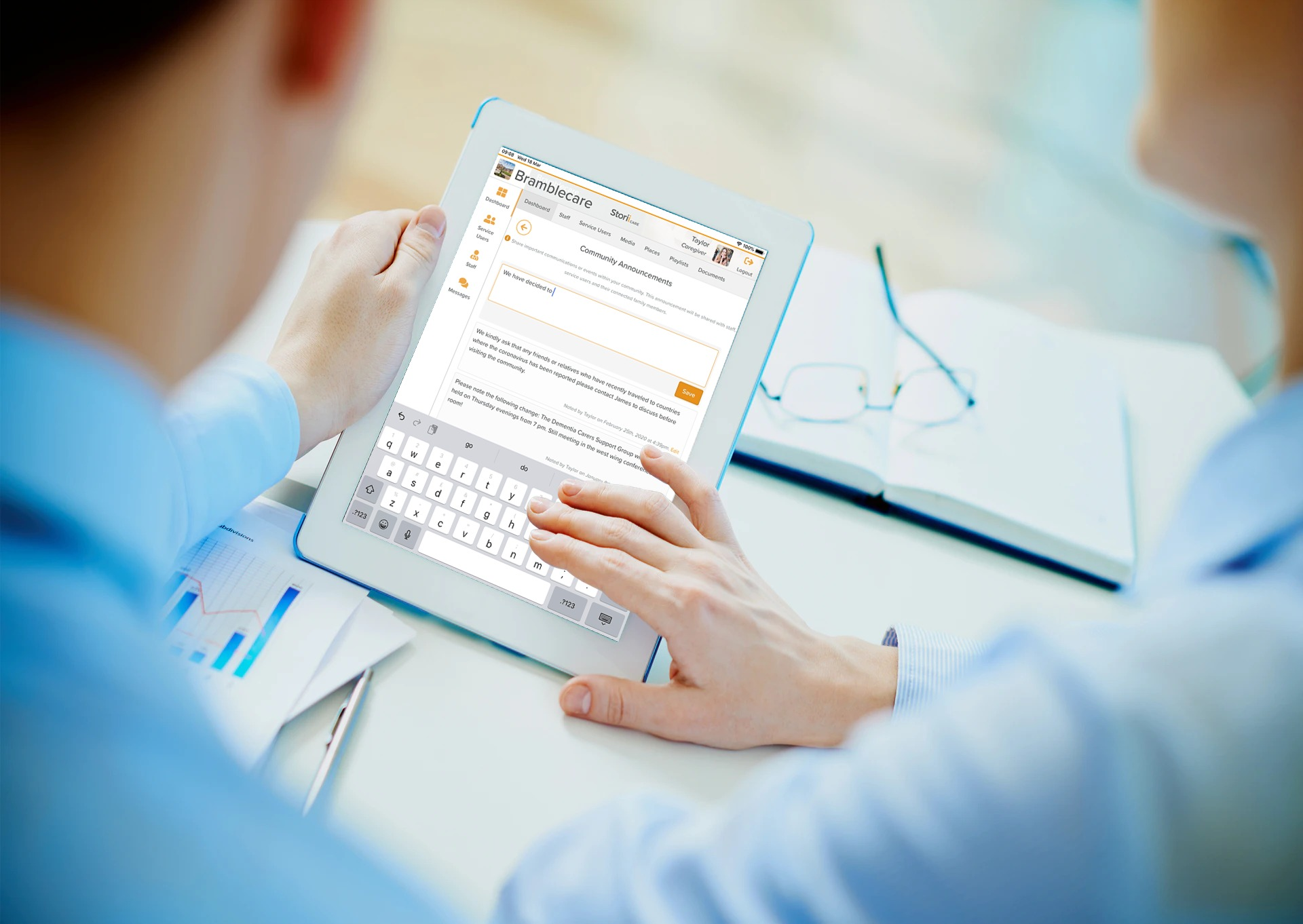 3 Ways Care Management Software Improves Communication During a Pandemic