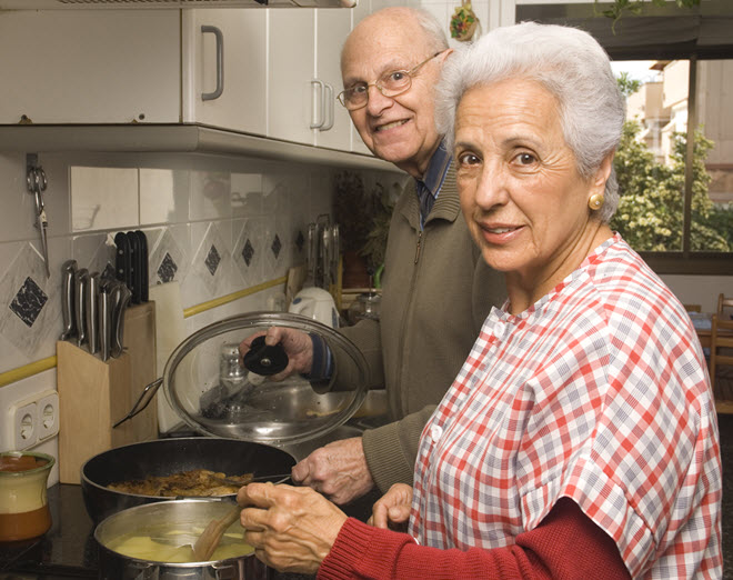 cognitive impairment and cooking