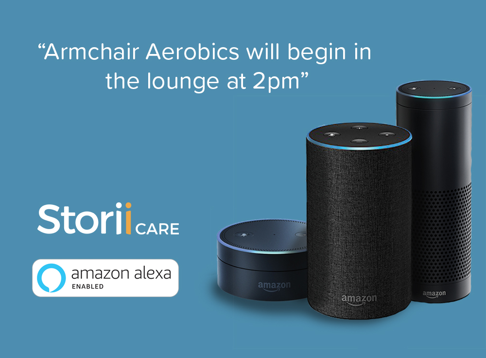 Amazon Alexa StoriiCare Integration