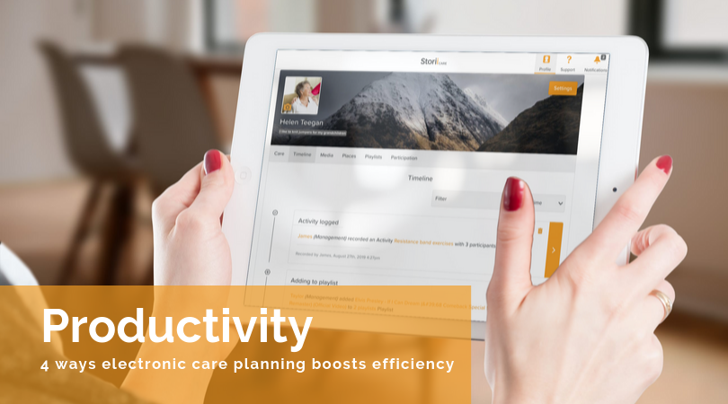 Switch to Electronic Care Planning and Watch Productivity Increase