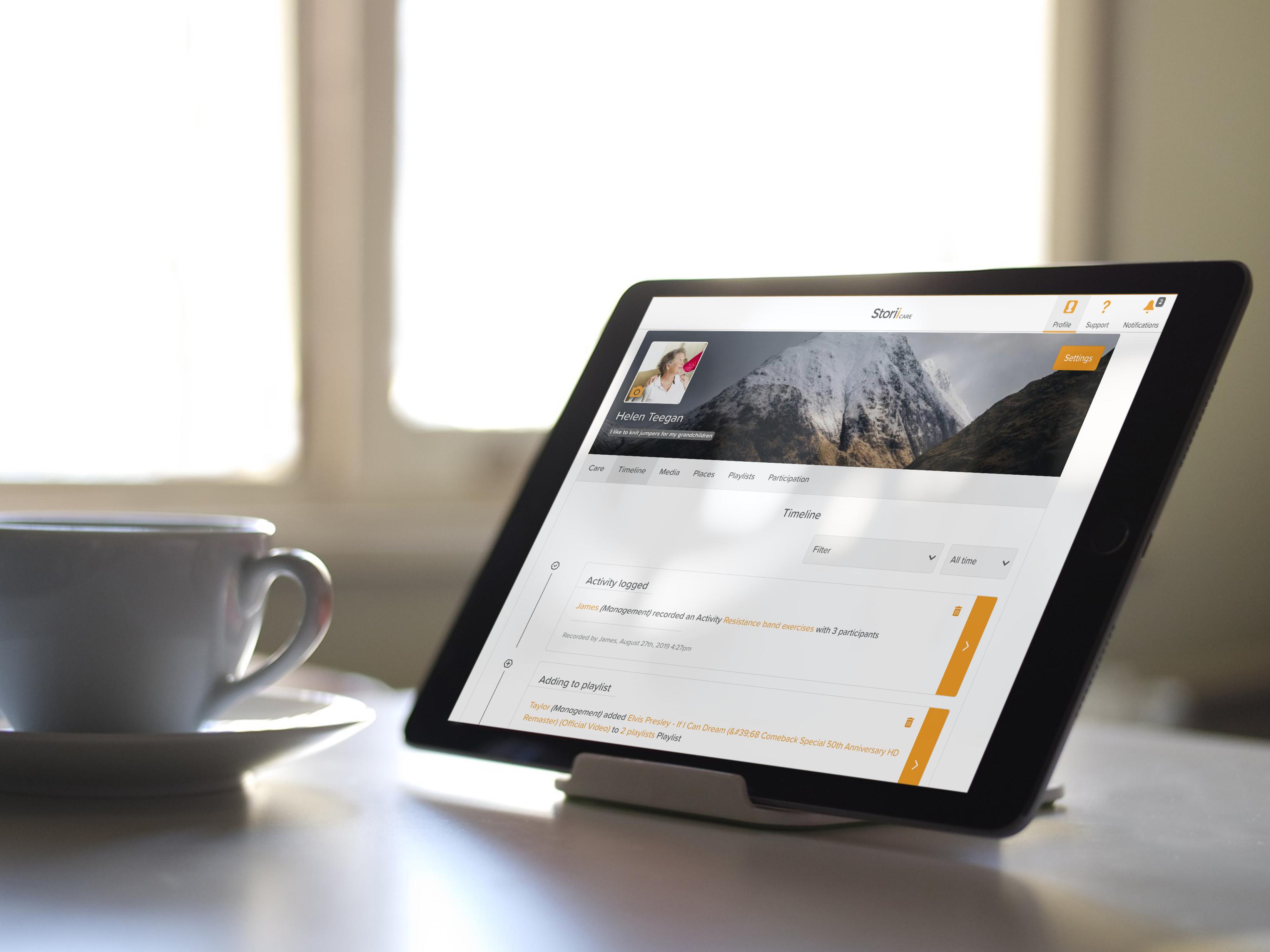Storii - Family Portal for Care Providers