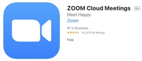 Zoom Cloud Meetings App