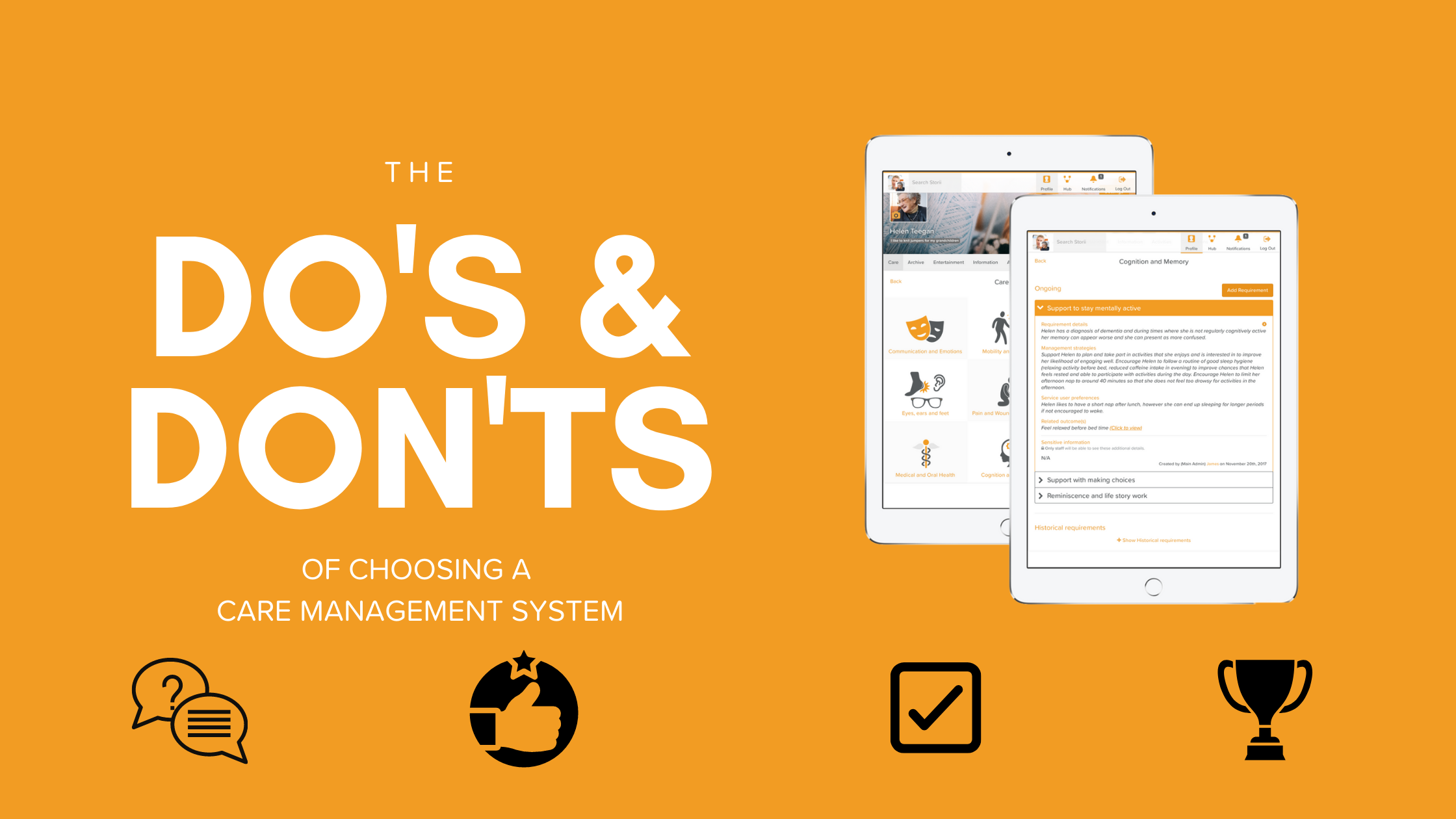 Do's & Don'ts of Choosing a Care Management System