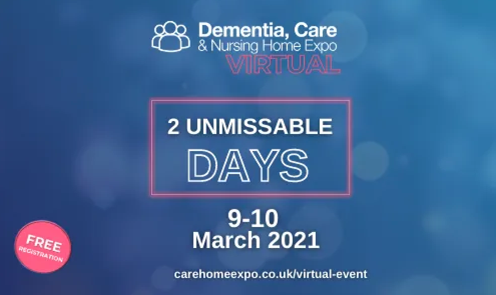 See You at the Dementia, Care & Nursing Home Expo!