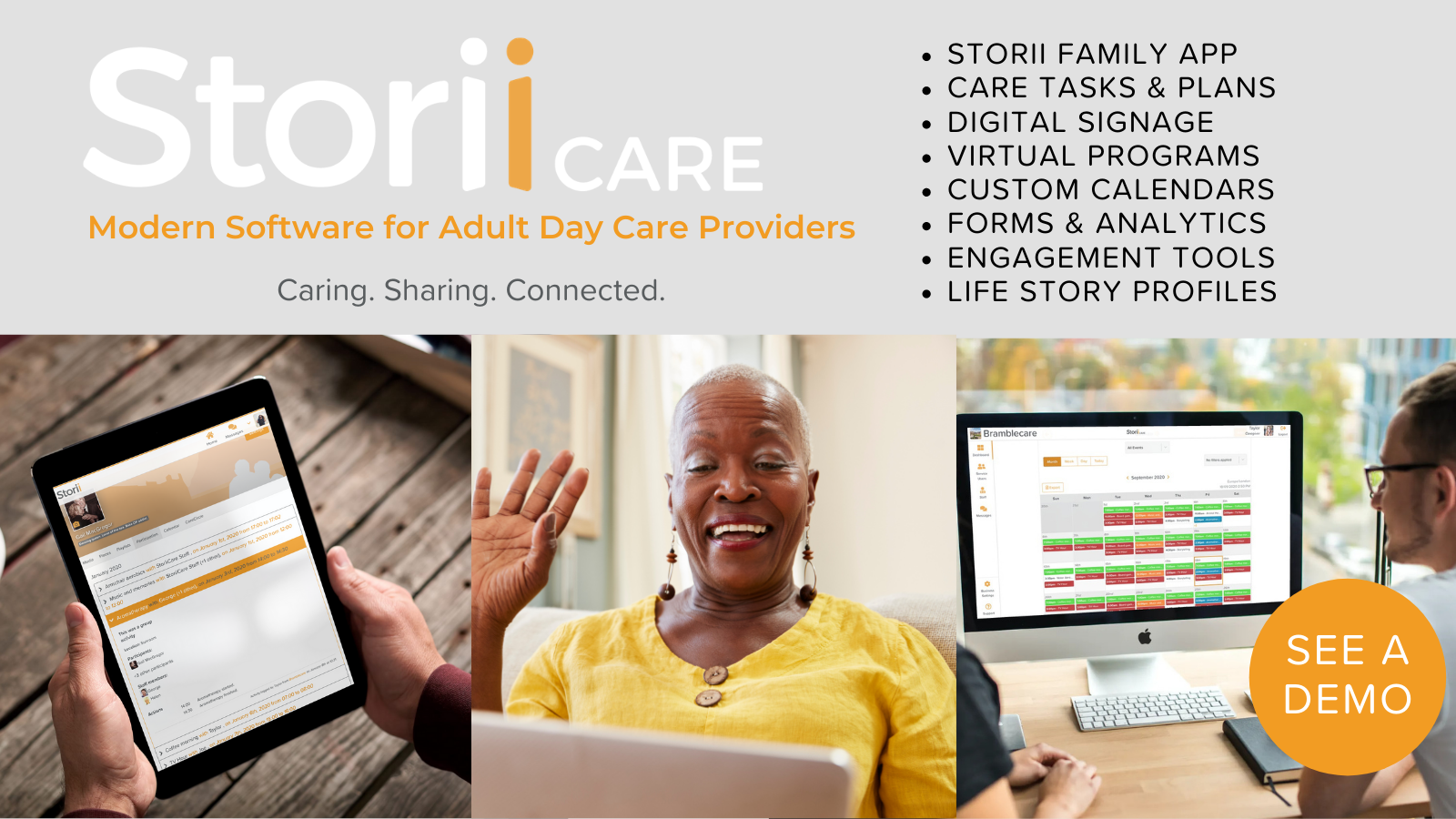StoriiCare Adult Day Care Software