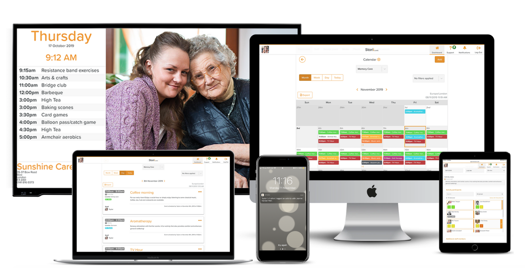 Activity Calendars for Adult Day Care