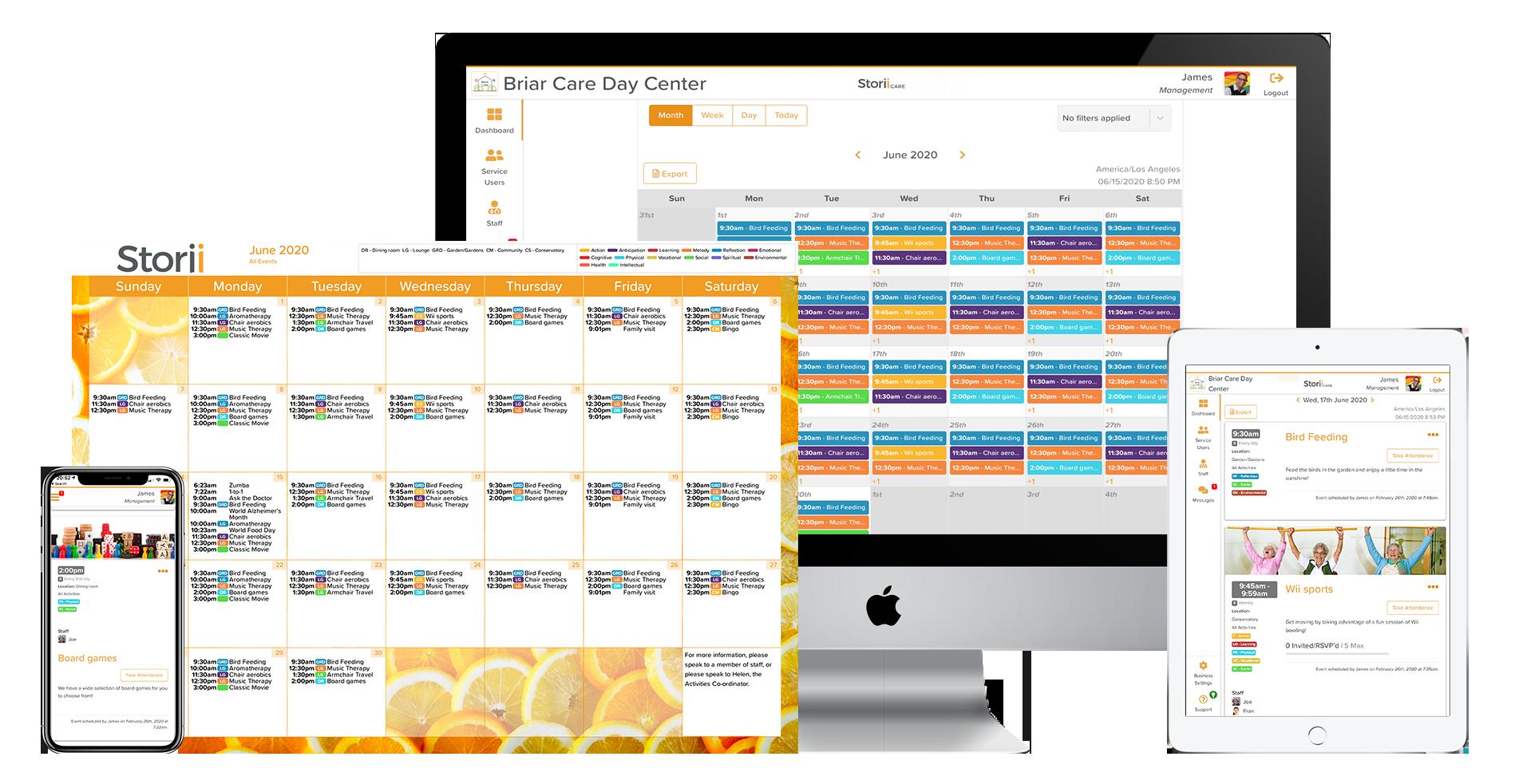 Activity Calendar Templates