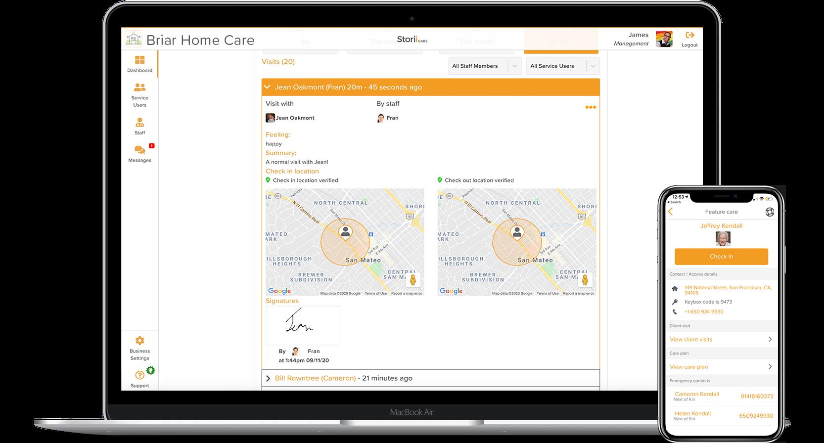 Home Care Electronic Visit Verification