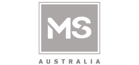 Logo for MS Australia
