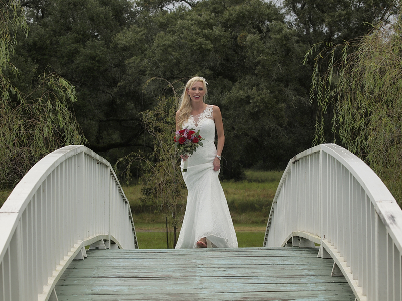 Bride at Blisswood Ranch