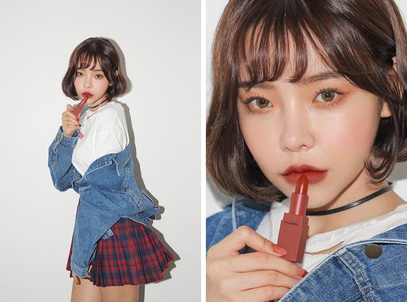 Gong Soo Ah - người mẫu thương hiệu 3CE Stylenanda
