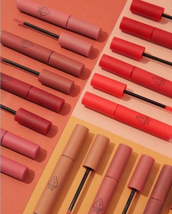Review son 3CE Velvet Lip Tint - Dòng son kem lì hot nhất thị trường