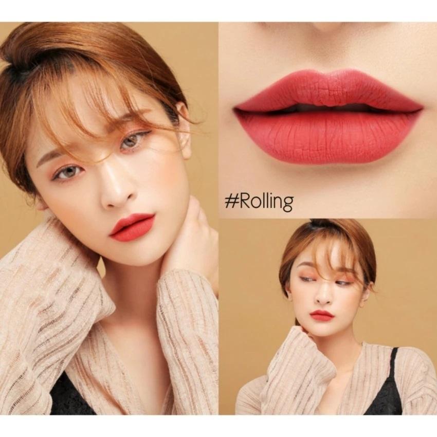 Rolling là màu sắc được rất nhiều người ưa chuộng trong bộ sưu tập 3CE Liquid Lip Color
