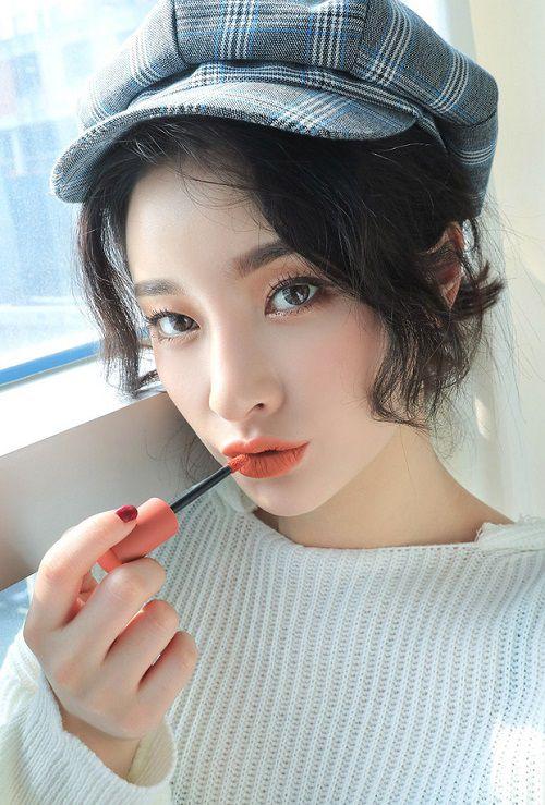 Màu Peach Tea của bộ sưu tập 3CE Soft Lip Lacquer