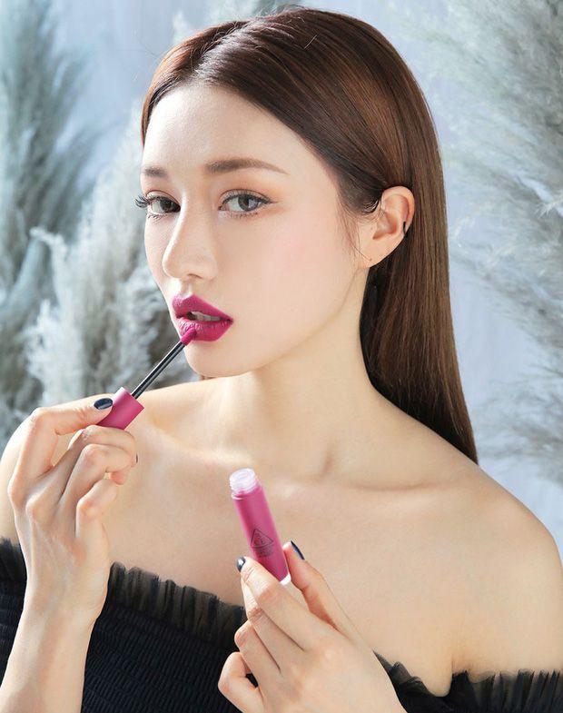 Màu Almost Mauve của bộ sưu tập 3CE Soft Lip Lacquer