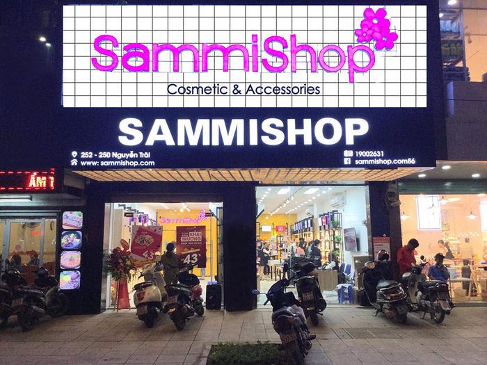 Sammi Shop địa chỉ được nhiều người tìm đến