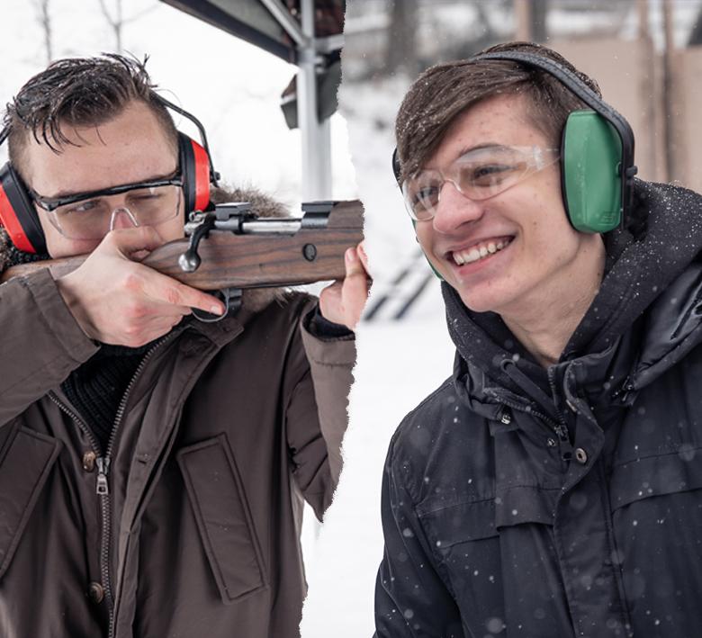 CS:GO and PUBG teams with real guns
