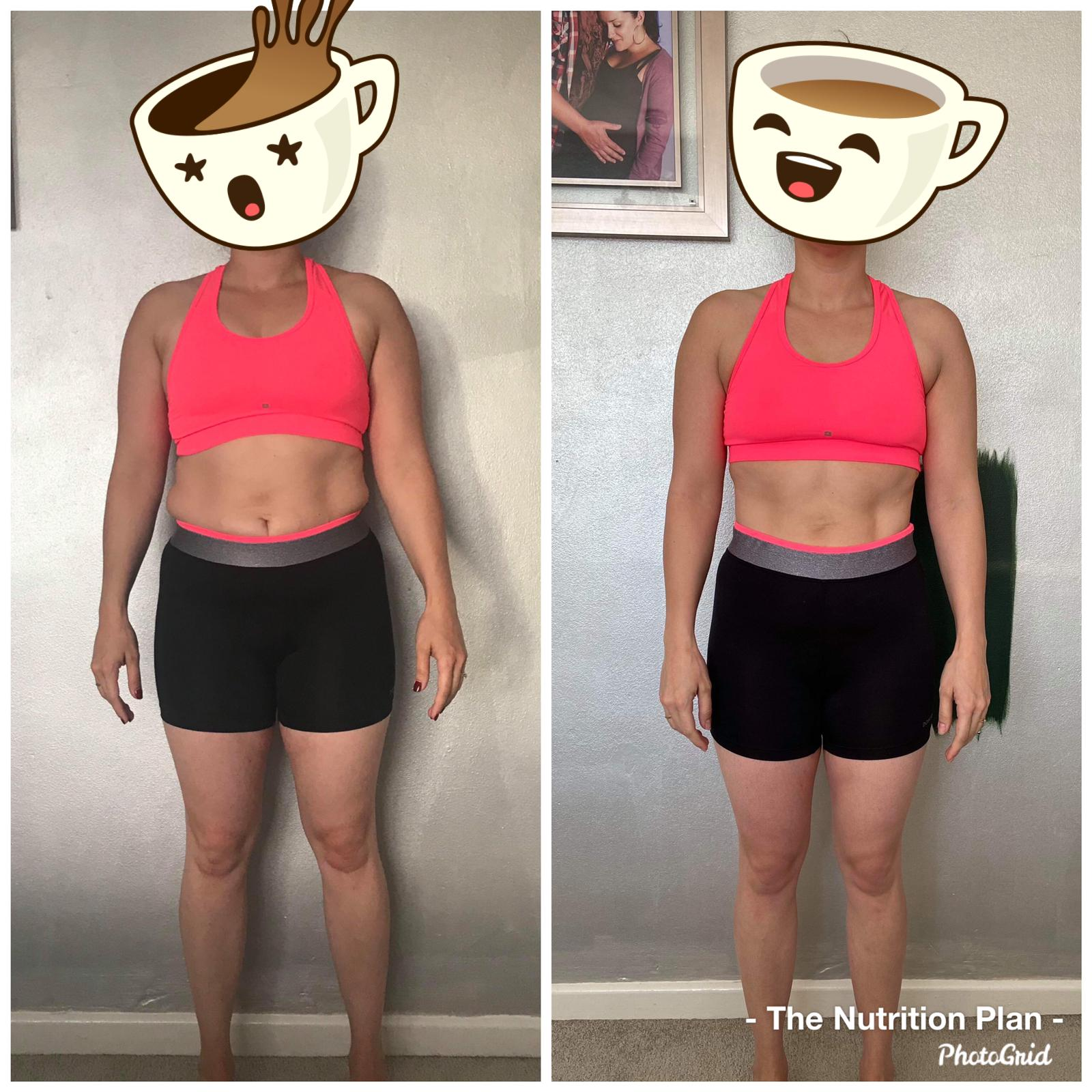 Fat loss progress