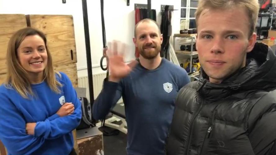 owners of Compound Strength & Conditioning gym