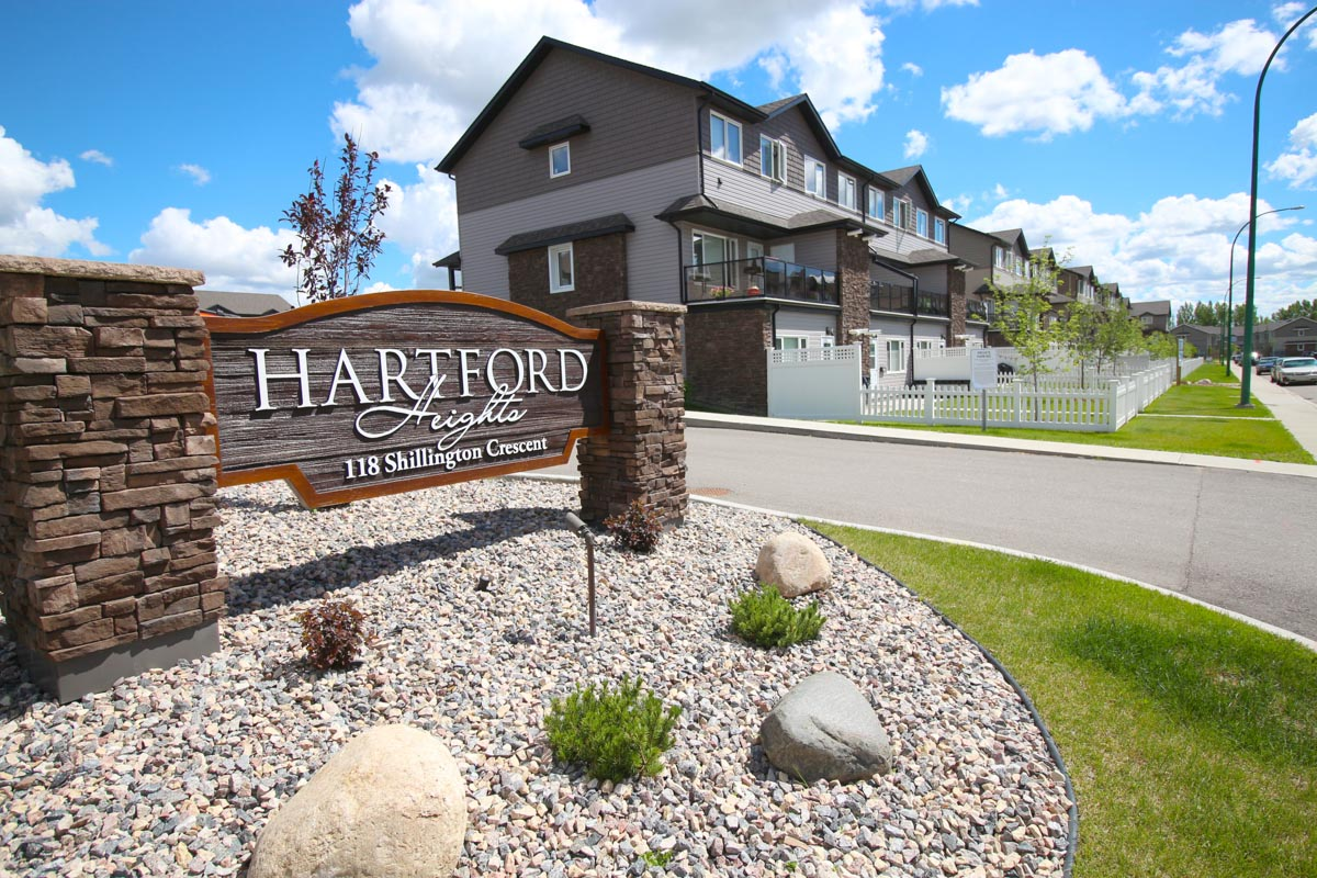 Hartford Heights townhouses in Saskatoon, Sask.