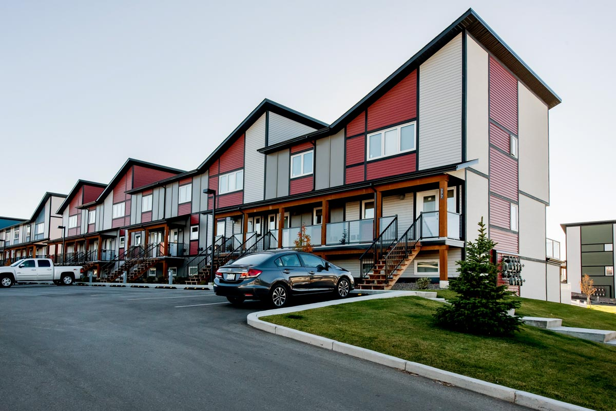 Ridgedale Crossing townhouses in Swift Current, Sask.