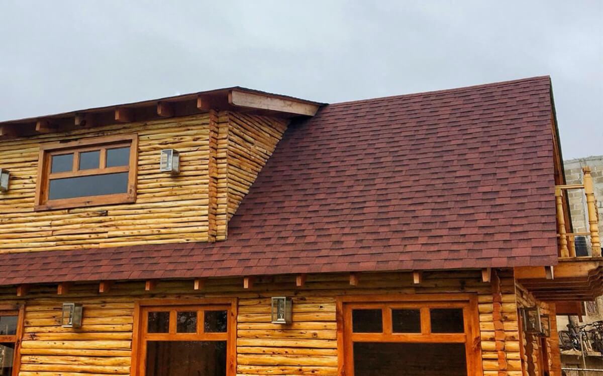 Ejemplo de Teja Asfaltica Cambridge Riviera Red utilizado en el techo (4)