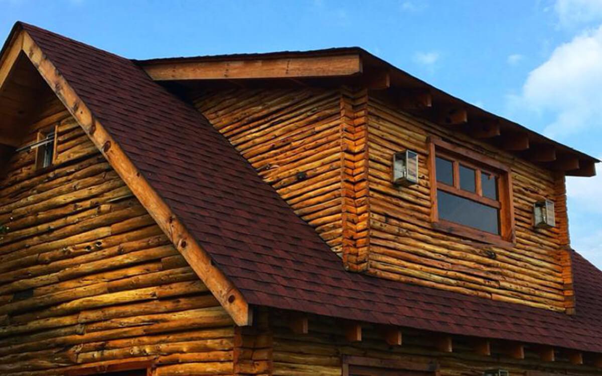 Ejemplo de Teja Asfaltica Cambridge Riviera Red utilizado en el techo (5)