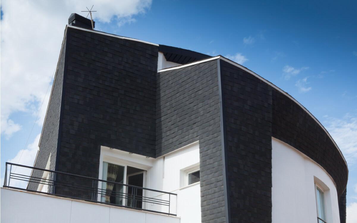 Ejemplo de Teja Asfaltica Cambridge Dual Black utilizado en el techo (3)