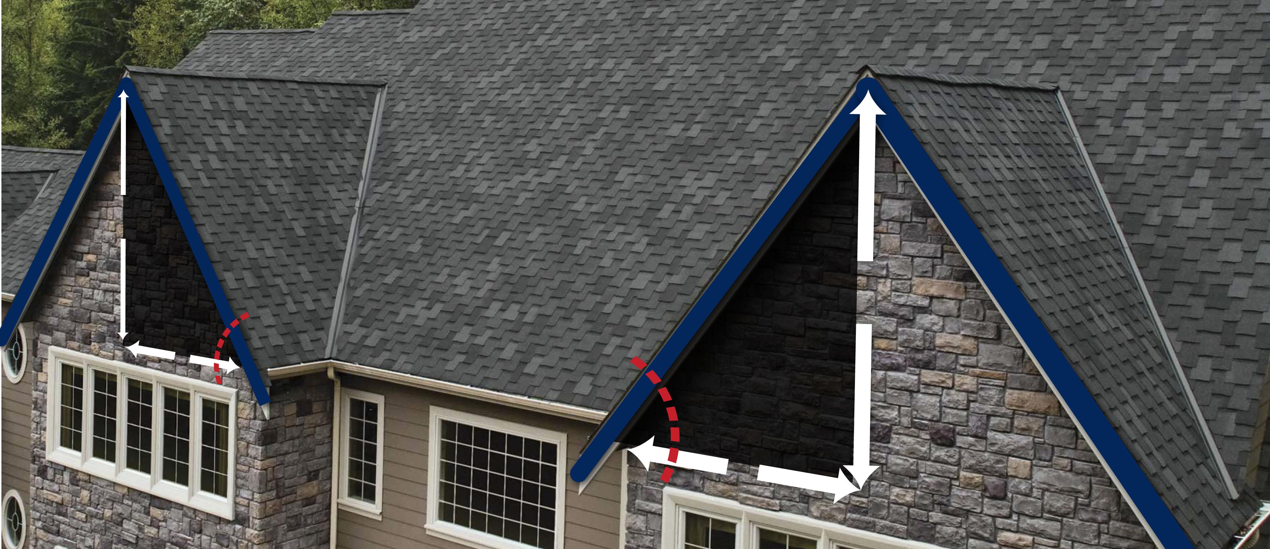 ¿Cómo calcular la pendiente de un techo?