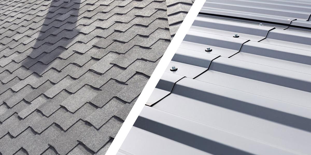 Diferencias de la Teja Asfáltica con otros materiales de techado - Parte 2: Tejas Asfálticas vs Láminas de Metal