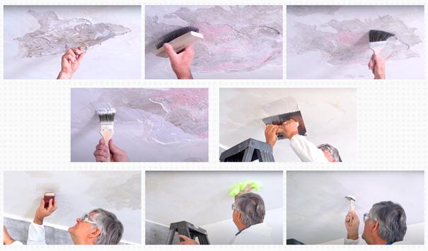 Reparación paso a paso de goteras o humedades por el interior