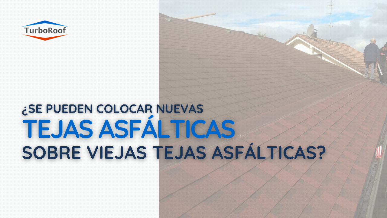¿Se pueden colocar nuevas tejas asfálticas sobre viejas tejas?