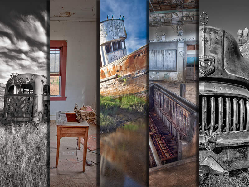 Abandoned Photography Gallery